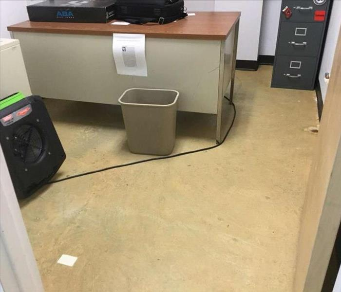 Commercial Water Damage Restoration in Meriden After