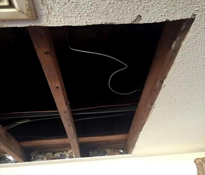 Ceiling Water Damage After Storm