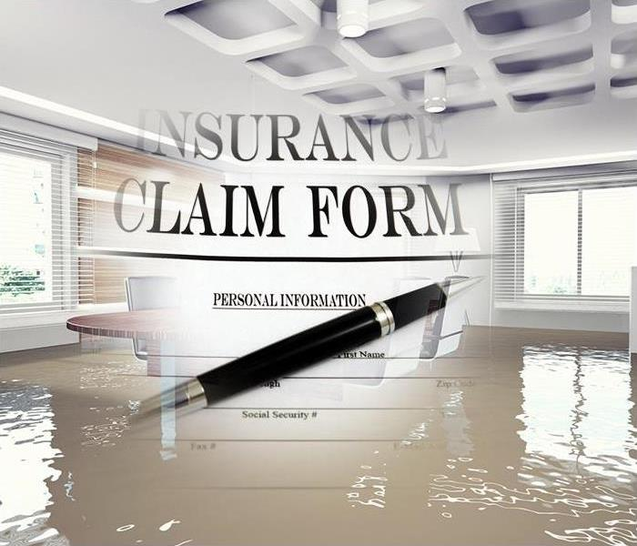 Water Damage THE INSURANCE CLAIMS PROCESS - WATER DAMAGE
