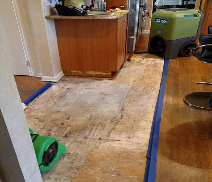 Dishwasher Leak In Meriden Ct Water Damage Mitigation Water